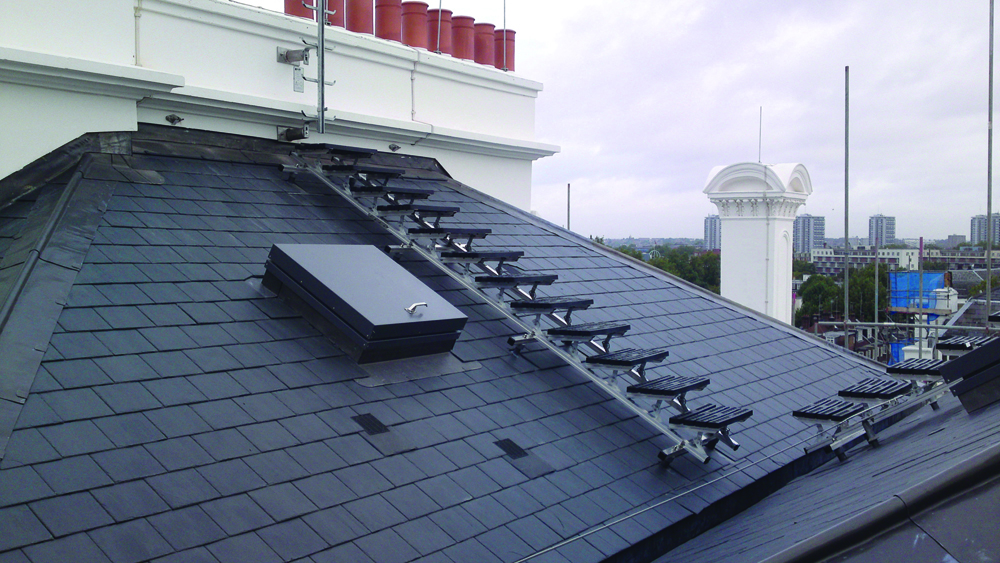 Roof Top Walkway Protection Roof Edge Fabrications