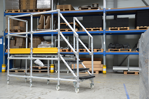 Bespoke Access Platforms Roof Edge Fabrications