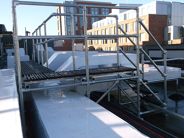Bespoke Access Platforms Roof Edge Fabrications