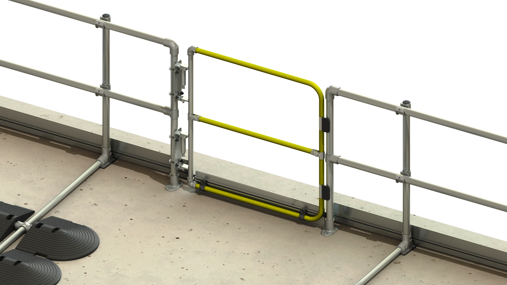 Full Height Gates added to our safety gate range   Roof Edge