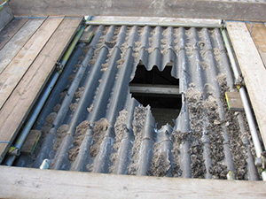 Working Safely Near Rooflights And Skylights Roof Edge