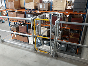 Safety Gates for Ladders