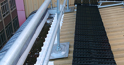 Preventing slips and trips on roofs | Roof Edge Fabrications