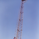 Cabloc for use on vertical structures such as ladders and masts