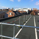 Demarcation and edge protection provide cost effective solution