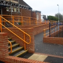 Suitable for DDA compliant handrailing