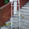 Ladder Spurs increase the ladder's base width and prevent outward slip